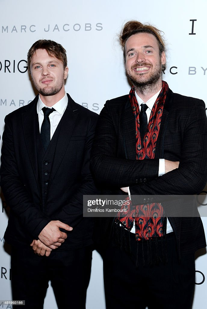 Actor <a gi-track='captionPersonalityLinkClicked' href=/galleries/search?phrase=Michael+Pitt&family=editorial&specificpeople=207164 ng-click='$event.stopPropagation()'>Michael Pitt</a> and Director <a gi-track='captionPersonalityLinkClicked' href=/galleries/search?phrase=Mike+Cahill+-+Director+-+Born+1979&family=editorial&specificpeople=12938546 ng-click='$event.stopPropagation()'>Mike Cahill</a> attend the 'I Origins' screening at Sunshine Landmark on July 10, 2014 in New York City.