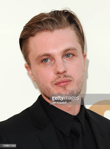 Actor Michael Pitt arrives at the 63rd Primetime Emmy Awards held at Nokia Theatre LA Live on September 18 2011 in Los Angeles United States