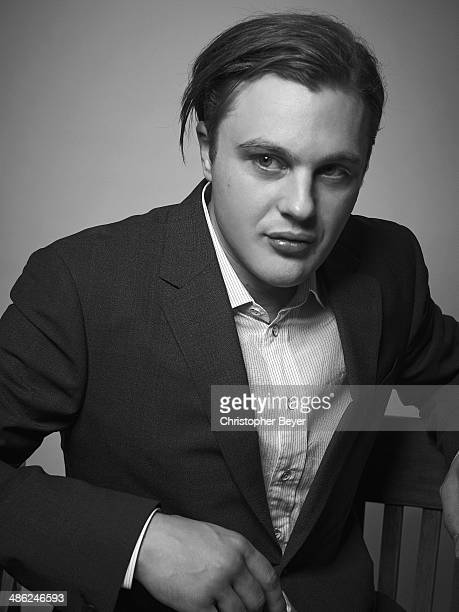 Actor Michael Pitt is photographed for Entertainment Weekly Magazine on January 25 2014 in Park City Utah