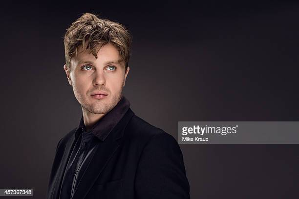 Actor Michael Pitt is photographed for Self Assignment on July 1 2014 in Munich France