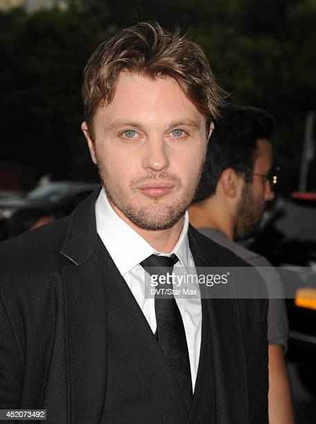 Actor Michael Pitt is seen on July 10 2014 in New York City