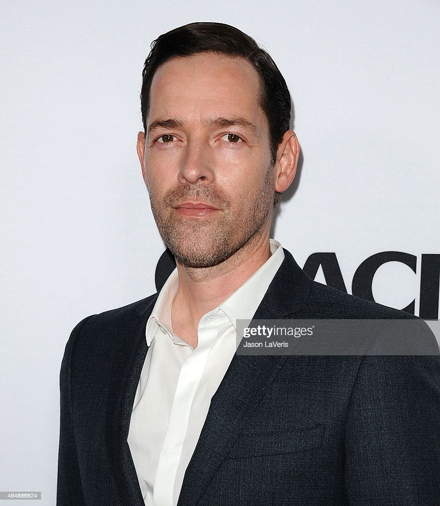 Actor Michael Polish attends the premiere of 'The Art of More' at Sony Pictures Studios on October 29, 2015 in Culver City, California.