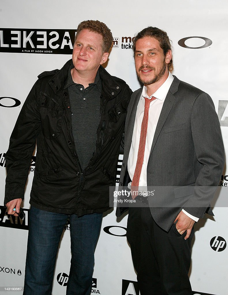 Actor Michael Rapaport and director Jason Bergh attend the 'Alekesam' premiere at the Tribeca Grand Hotel on April 20, 2012 in New York City.