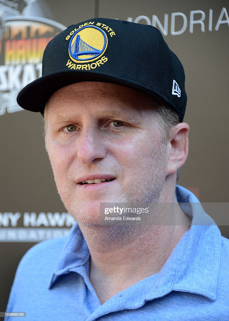 Actor <a gi-track='captionPersonalityLinkClicked' href=/galleries/search?phrase=Michael+Rapaport&family=editorial&specificpeople=234353 ng-click='$event.stopPropagation()'>Michael Rapaport</a> arrives at the 9th Annual Stand Up For Skateparks Benefiting The Tony Hawk Foundation at a private residence on October 7, 2012 in Beverly Hills, California.