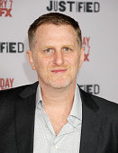 Actor Michael Rapaport arrives at the Los Angeles premiere of FX 'Justified' at DGA Theater on January 6 2014 in Los Angeles California