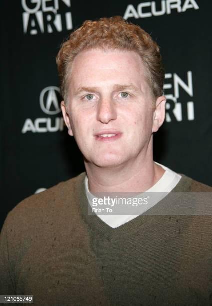 Actor Michael Rapaport arrives at the 'Special' Los Angeles Premiere at the ICM Screening Room on November 25 2008 in Los Angeles California