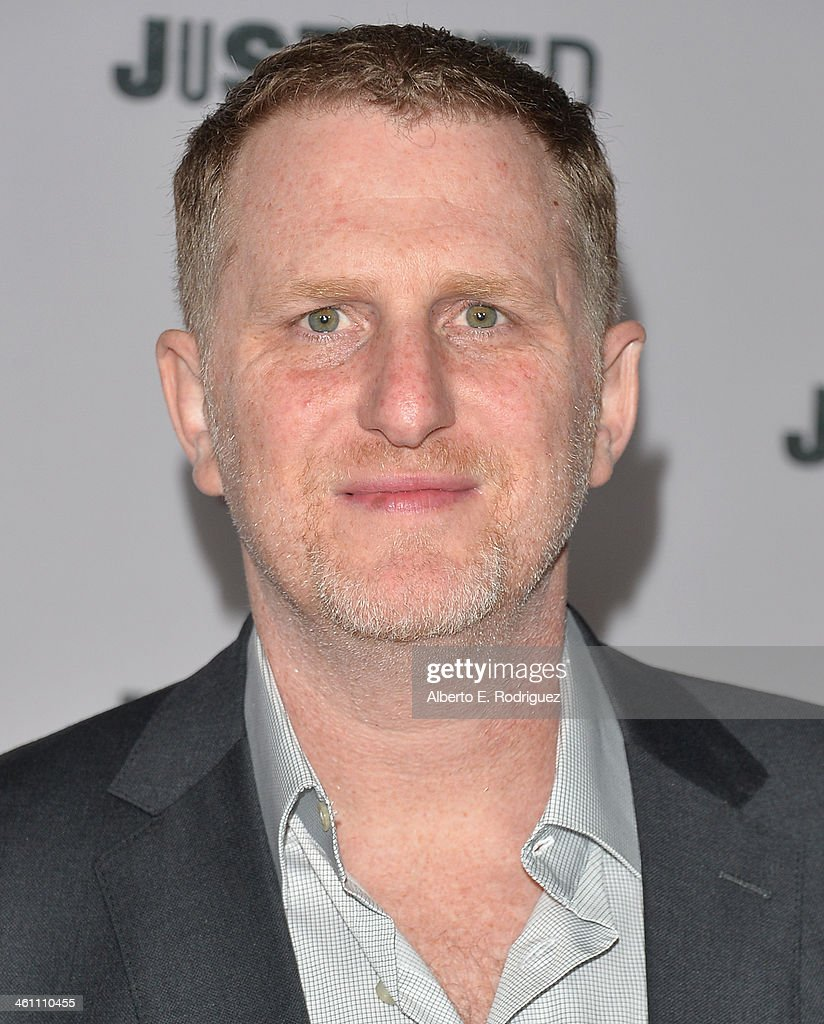 Actor Michael Rapaport arrives to the Season 5 premiere of FX's 'Justified' at DGA Theater on January 6, 2014 in Los Angeles, California.