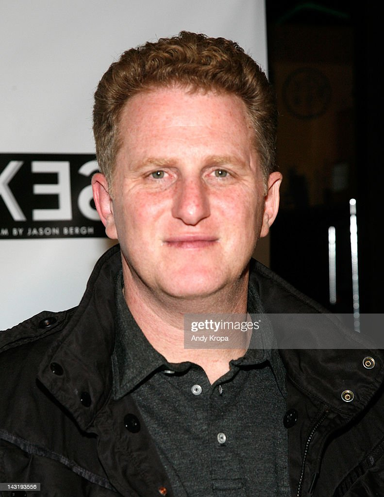 Actor Michael Rapaport attends the 'Alekesam' premiere at the Tribeca Grand Hotel on April 20, 2012 in New York City.