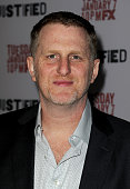 Actor Michael Rapaport attends the season 5 premiere screening of FX's 'Justified' at the DGA Theater on January 6 2014 in Los Angeles California