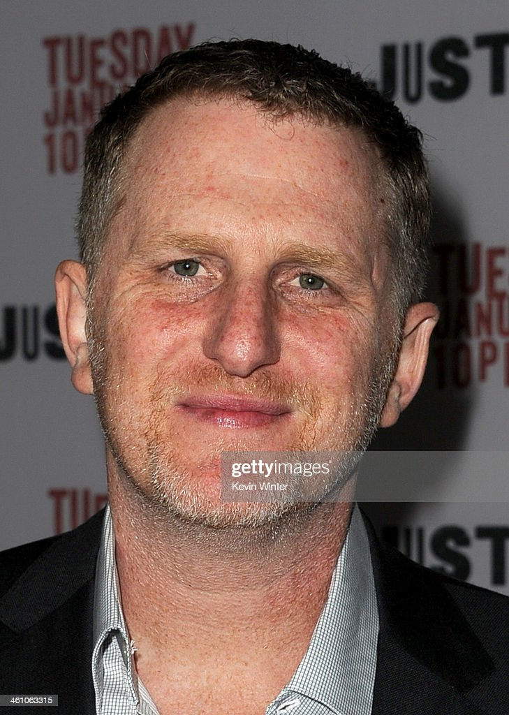 Actor Michael Rapaport attends the season 5 premiere screening of FX's 'Justified' at the DGA Theater on January 6, 2014 in Los Angeles, California.
