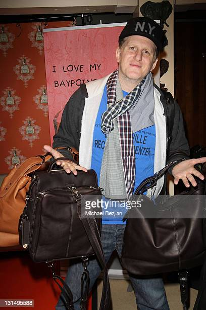 Actor Michael Rapaport attends The Studio on Main with Moving Pictures Magazine and Fred Segal Salon on January 24 2011 in Park City Utah