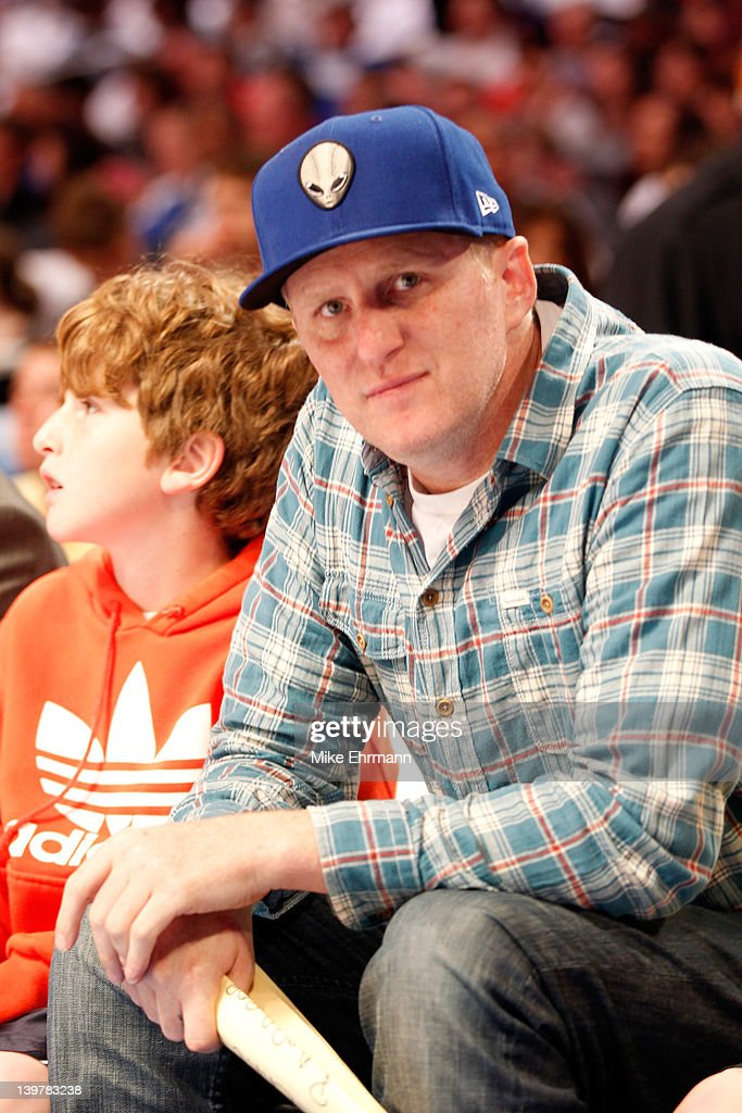Actor Michael Rapaport looks on during the BBVA Rising Stars Challenge part of the 2012 NBA All-Star Weekend at Amway Center on February 24, 2012 in Orlando, Florida.
