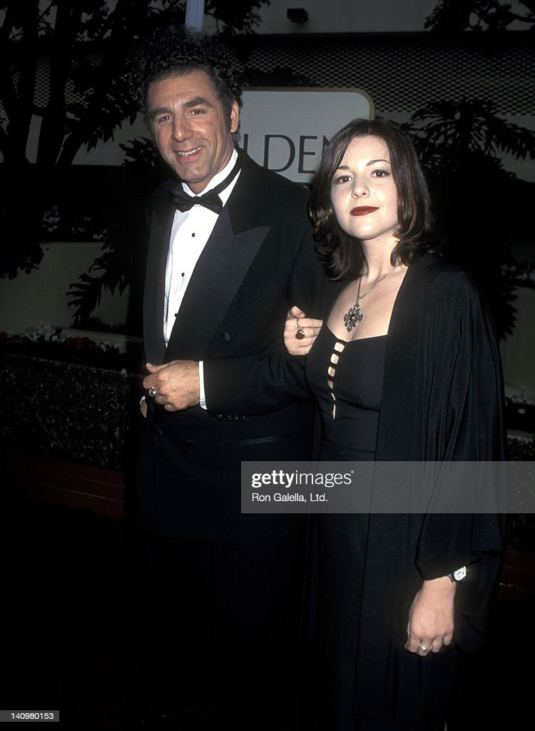 Actor Michael Richards and daughter Sophia Richards attend 53rd Annual Golden Globe Awards on January 21, 1996 at the Beverly Hilton Hotel in Beverly Hills, California.