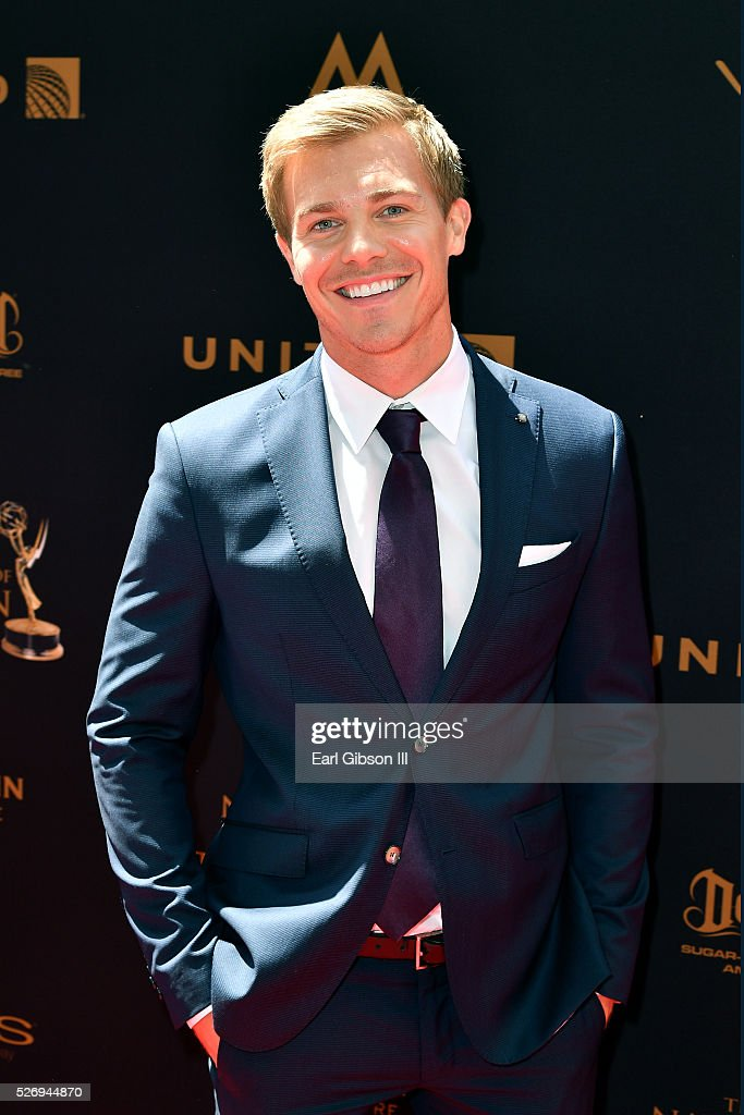 Actor Michael Roark arrives at the 43rd Annual Daytime Emmy Awards at the Westin Bonaventure Hotel on May 1, 2016 in Los Angeles, California.
