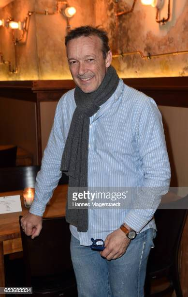 Actor Michael Roll during the NdF after work press cocktail at Parkcafe on March 15 2017 in Munich Germany
