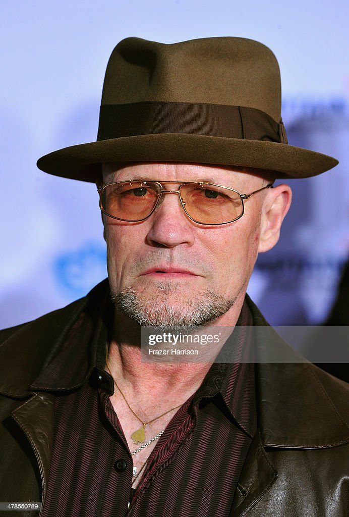 Actor <a gi-track='captionPersonalityLinkClicked' href=/galleries/search?phrase=Michael+Rooker&family=editorial&specificpeople=640228 ng-click='$event.stopPropagation()'>Michael Rooker</a> arrives at the premiere Of Marvel's 'Captain America:The Winter Soldier at the El Capitan Theatre on March 13, 2014 in Hollywood, California.