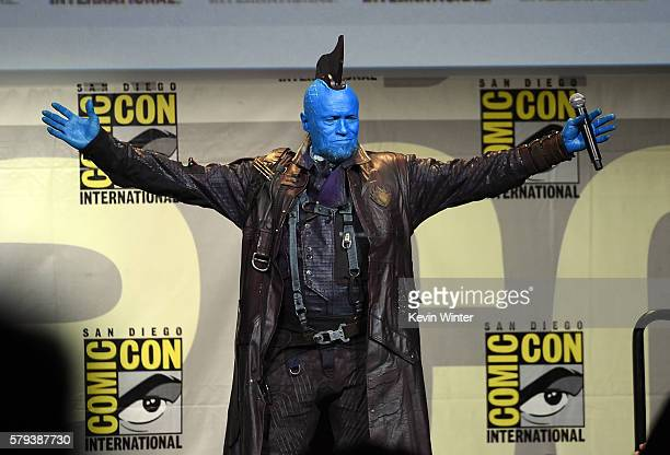 Actor Michael Rooker attends the Marvel Studios presentation during ComicCon International 2016 at San Diego Convention Center on July 23 2016 in San...