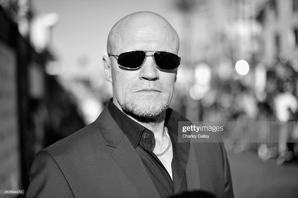 """Actor <a gi-track='captionPersonalityLinkClicked' href=/galleries/search?phrase=Michael+Rooker&family=editorial&specificpeople=640228 ng-click='$event.stopPropagation()'>Michael Rooker</a> attends The World Premiere of Marvel's epic space adventure """"Guardians of the Galaxy,"""" directed by James Gunn and presented in Dolby 3D and Dolby Atmos at the Dolby Theatre. July 21, 2014 Hollywood, CA"""