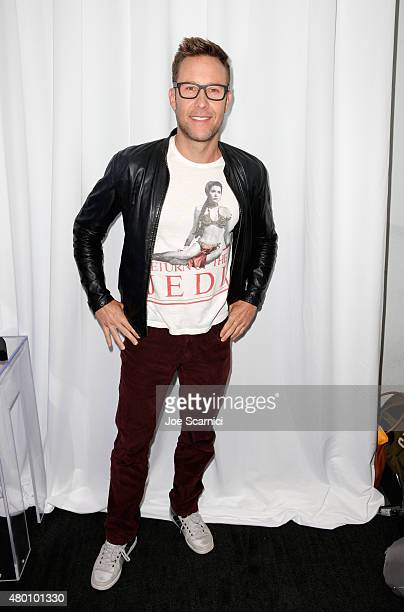 Actor Michael Rosenbaum attends the TV Land press room during ComicCon International 2015 at The Hard Rock Hotel on July 9 2015 in San Diego...