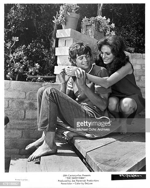 Actor Michael Sarrazin and Jacqueline Bisset in a scene from the 20th Century Fox movie 'The Sweet Ride' circa 1968