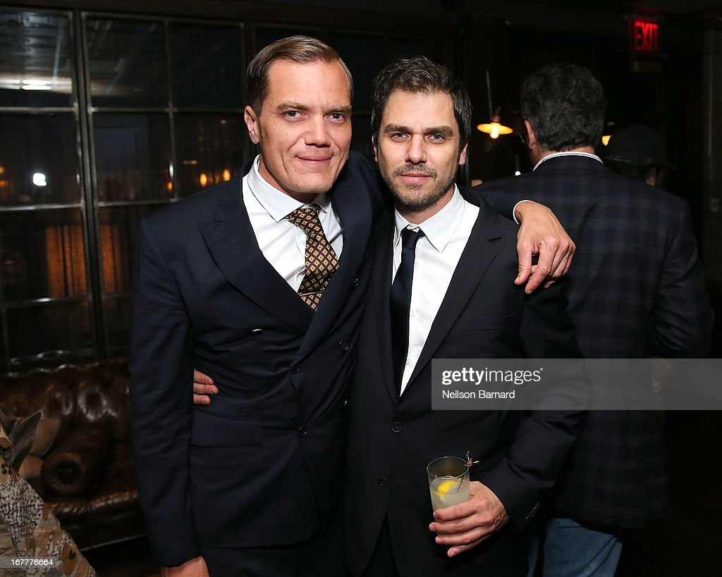 Actor Michael Shannon and driector Ariel Vromen attend the after party for a special New York screening of 'The Iceman' hosted by GREY GOOSE Vodka...