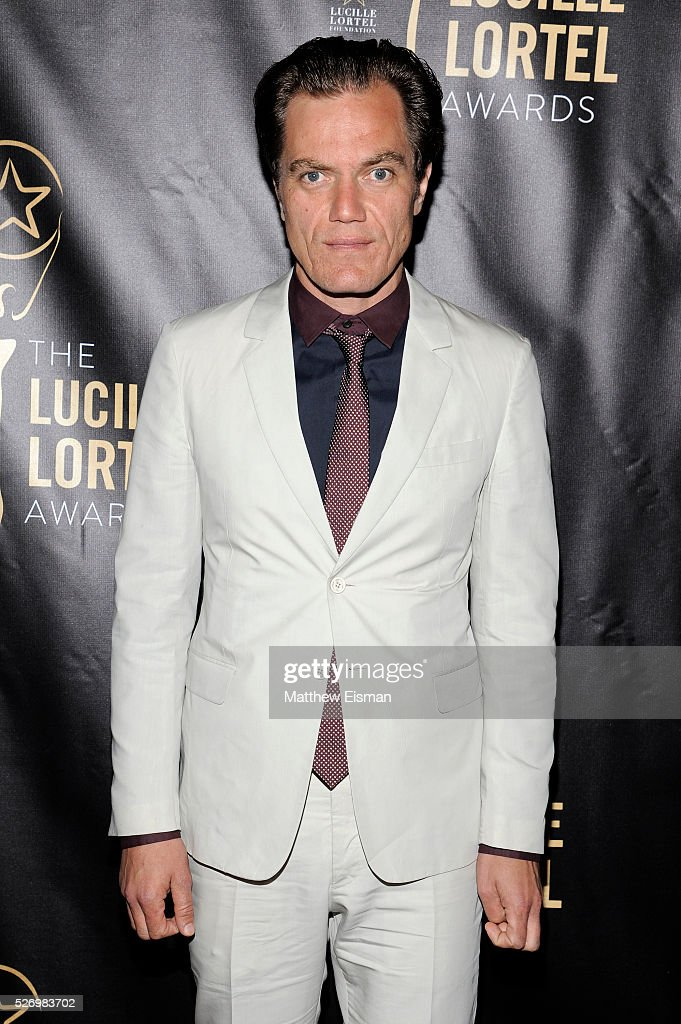 Actor Michael Shannon arrives at the 31st Annual Lucille Lortel Awards at NYU Skirball Center on May 1, 2016 in New York City.