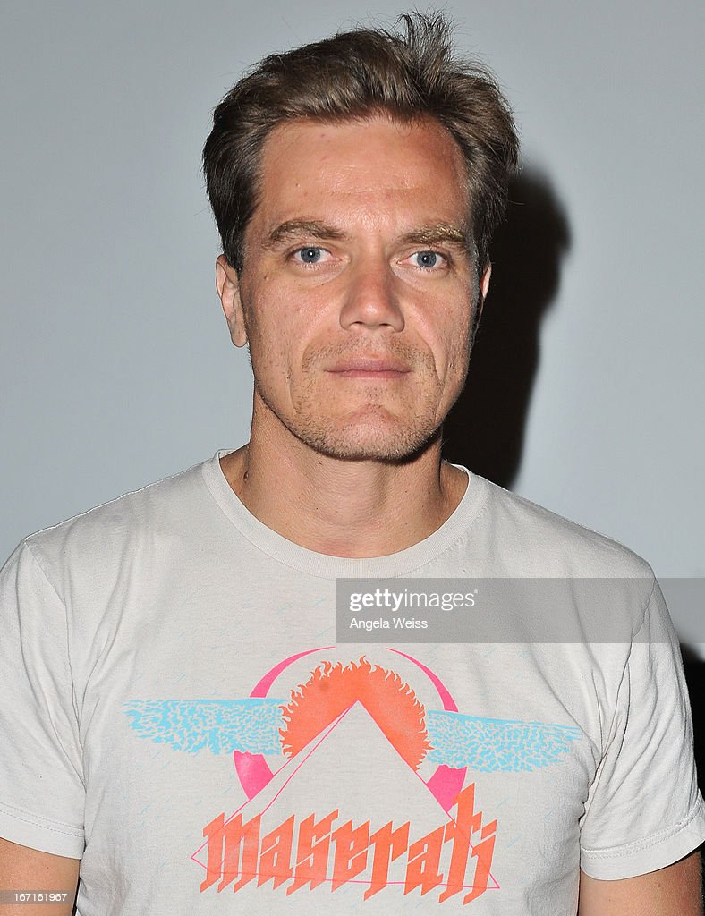 Actor Michael Shannon attends a screening of 'The Iceman' presented by TheWrap at Sundance Cinema at Sunset and Crescent Heights on April 21 2013 in...