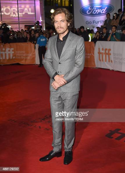 Actor Michael Shannon attends the 'Freeheld' premiere during the 2015 Toronto International Film Festival at Roy Thomson Hall on September 13 2015 in...