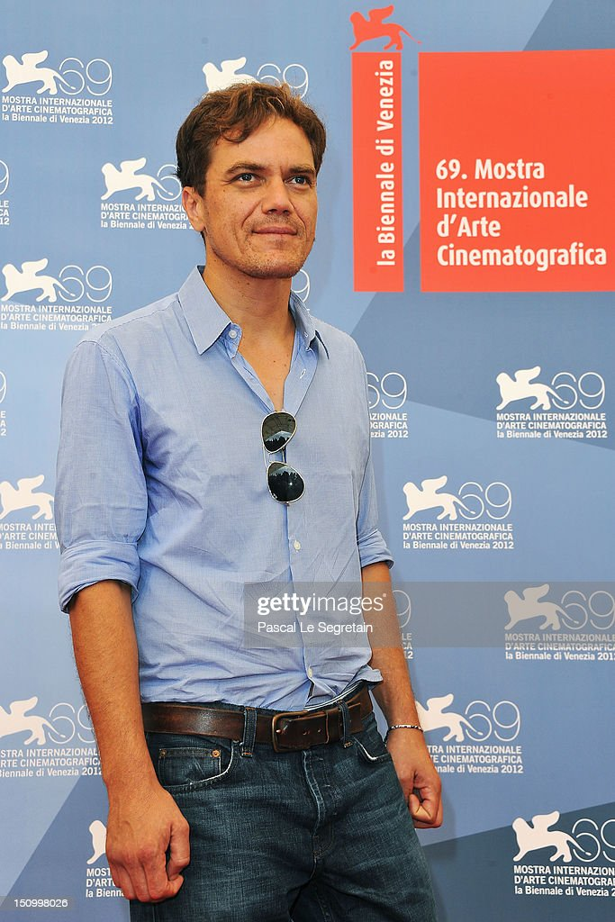 Actor Michael Shannon attends 'The Iceman' photocall during the 69th Venice Film Festival at the Palazzo del Casino on August 30 2012 in Venice Italy