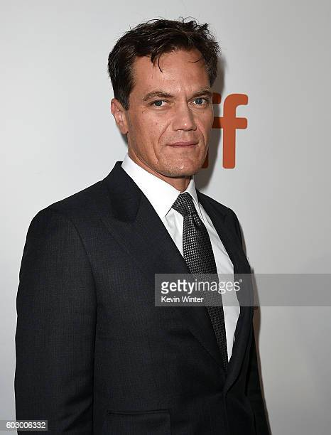 Actor Michael Shannon attends the 'Loving' premiere during the 2016 Toronto International Film Festival at Roy Thomson Hall on September 11 2016 in...