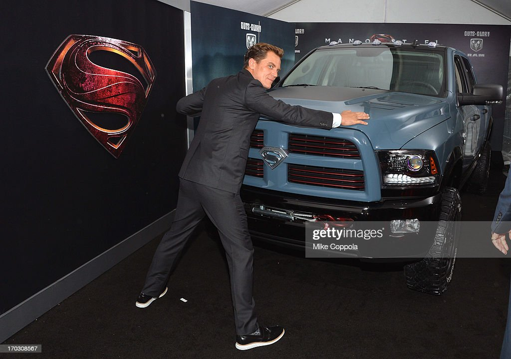 Actor <a gi-track='captionPersonalityLinkClicked' href=/galleries/search?phrase=Michael+Shannon&family=editorial&specificpeople=660513 ng-click='$event.stopPropagation()'>Michael Shannon</a> attends the 'Man of Steel' NYC premiere sponsored by RAM at Alice Tully Hall at Lincoln Center on June 10, 2013 in New York City.