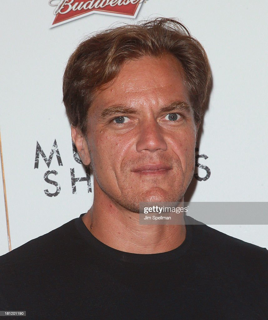Actor <a gi-track='captionPersonalityLinkClicked' href=/galleries/search?phrase=Michael+Shannon&family=editorial&specificpeople=660513 ng-click='$event.stopPropagation()'>Michael Shannon</a> attends the 'Muscle Shoals' New York Premiere at Landmark's Sunshine Cinema on September 19, 2013 in New York City.