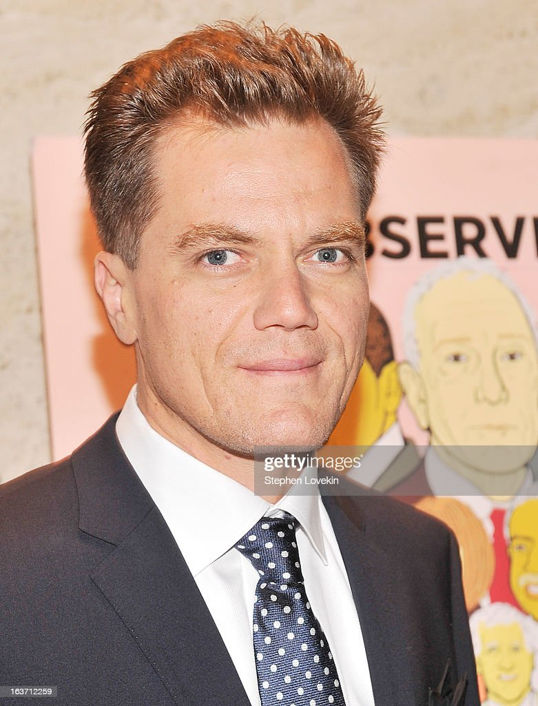 Actor <a gi-track='captionPersonalityLinkClicked' href=/galleries/search?phrase=Michael+Shannon&family=editorial&specificpeople=660513 ng-click='$event.stopPropagation()'>Michael Shannon</a> attends The New York Observer 25th Anniversary Party at Four Seasons Restaurant on March 14, 2013 in New York City.