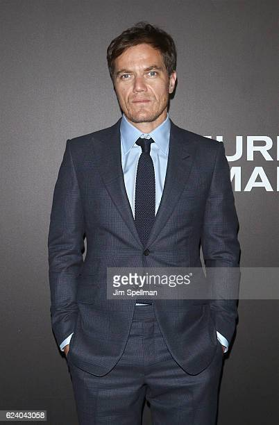 Actor Michael Shannon attends the 'Nocturnal Animals' New York premiere at The Paris Theatre on November 17 2016 in New York City