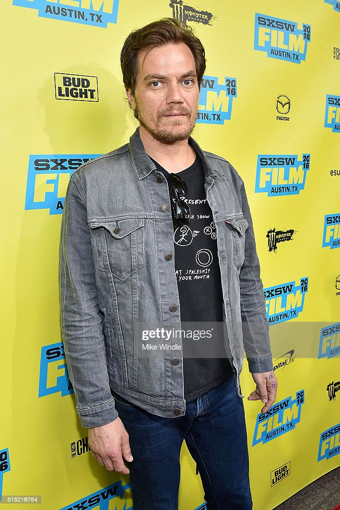 Actor Michael Shannon attends the screening of 'Midnight Special' during the 2016 SXSW Music Film Interactive Festival at Paramount Theatre on March...