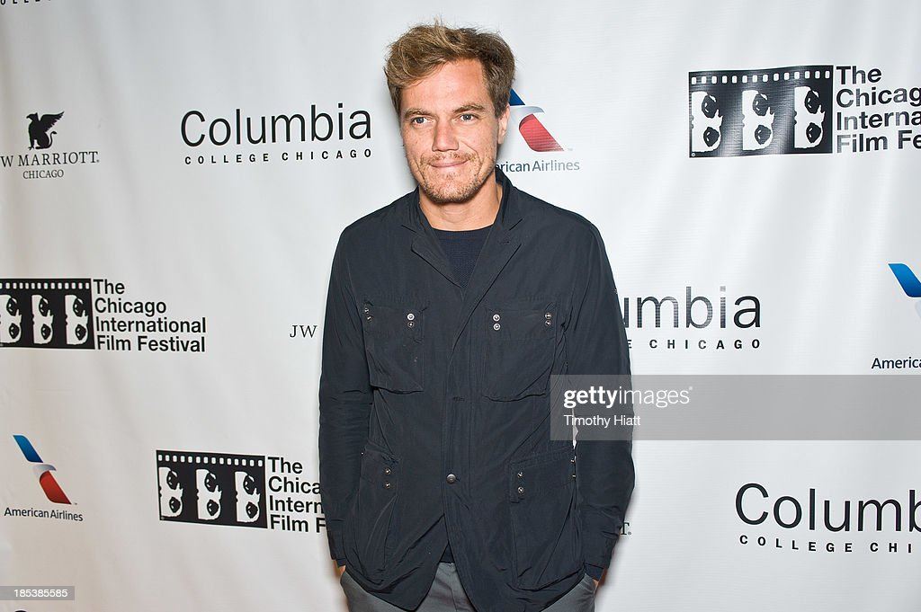 Actor Michael Shannon attends the 'The Harvest' premiere at AMC River East Theater on October 19, 2013 in Chicago, Illinois.