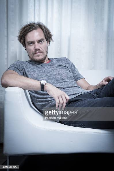 Actor Michael Shannon is photographed for Self Assignment on August 29 2014 in Venice Italy