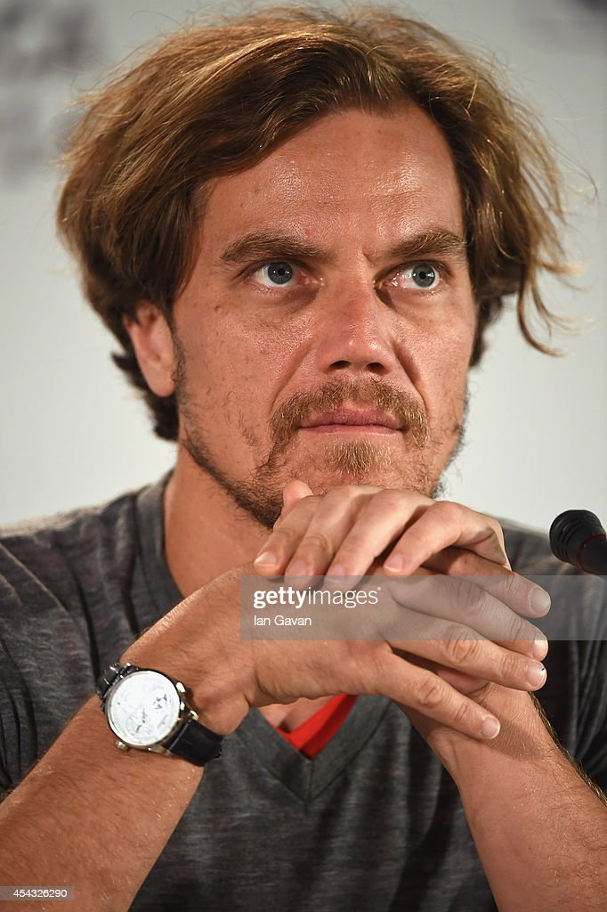 Actor <a gi-track='captionPersonalityLinkClicked' href=/galleries/search?phrase=Michael+Shannon&family=editorial&specificpeople=660513 ng-click='$event.stopPropagation()'>Michael Shannon</a> wearing a Jaeger-LeCoultre Duometre a Quantieme Lunaire watch attends the '99 Homes' press conference before the photocall during the 71st Venice Film Festival at the Palazzo del Casino on August 29, 2014 in Venice, Italy.