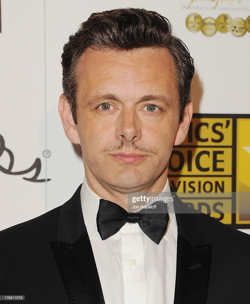 Actor Michael Sheen arrives at the BTJA Critics' Choice Television Award at The Beverly Hilton Hotel on June 10, 2013 in Beverly Hills, California.