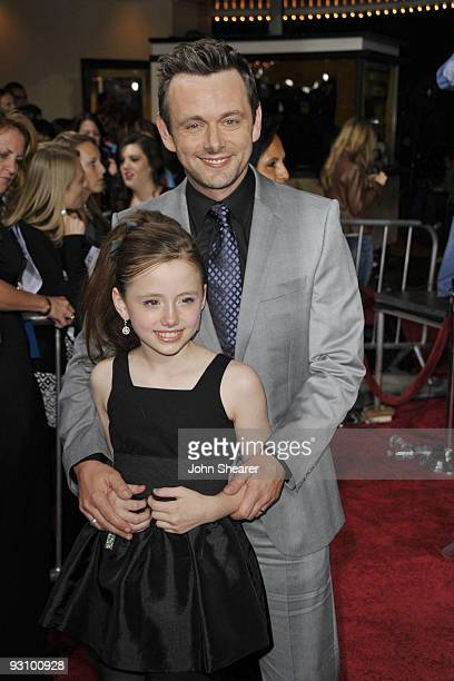 Actor Michael Sheen arrives at 'The Twilight Saga New Moon' premiere held at the Mann Village Theatre on November 16 2009 in Westwood California
