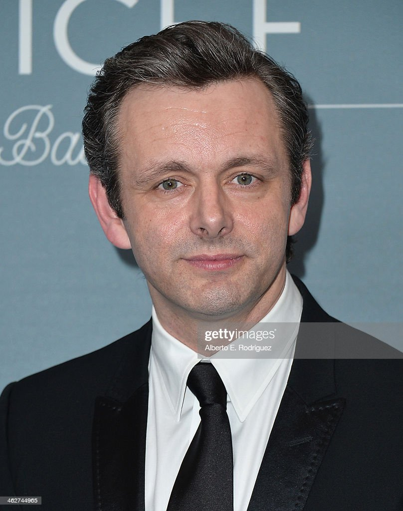 Actor Michael Sheen arrives to the 2014 UNICEF Ball Presented by Baccarat at the Regent Beverly Wilshire Hotel on January 14, 2014 in Beverly Hills, California.