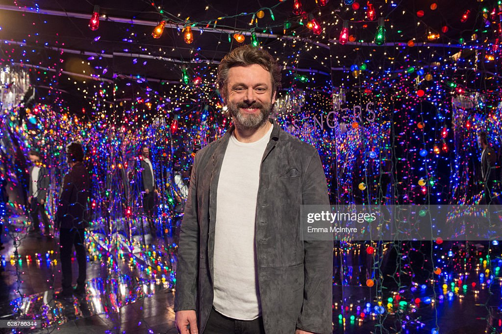 Actor Michael Sheen attends 'photo call for Columbia Pictures' 'Passengers' at Four Seasons Hotel Los Angeles at Beverly Hills on December 9, 2016 in Los Angeles, California.