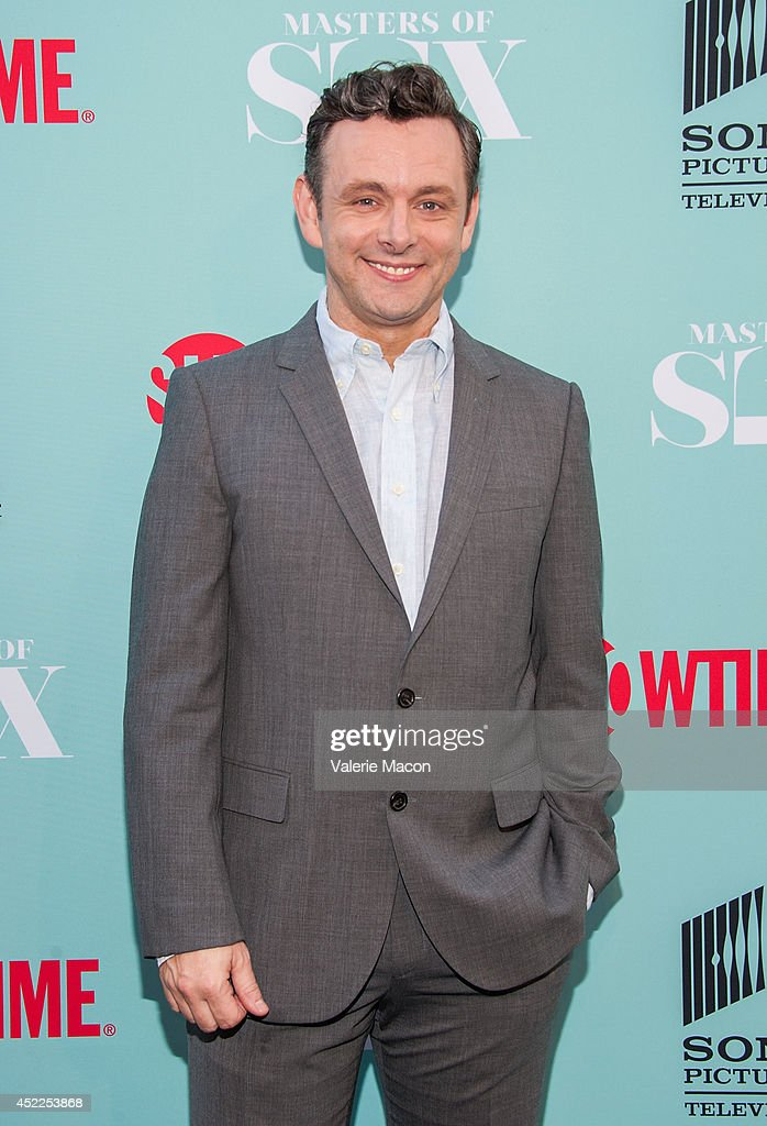 Actor Michael Sheen attends Showtime's 'Masters Of Sex' Season 2 - 2014 Summer TCA Press Tour Event at Sony Pictures Studios on July 16, 2014 in Culver City, California.