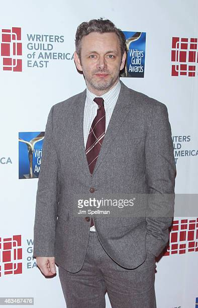 Actor Michael Sheen attends the 2015 Writers Guild Awards New York Ceremony at The Edison Ballroom on February 14 2015 in New York City