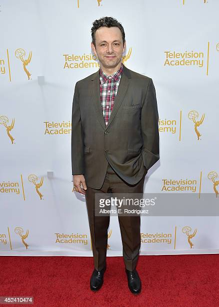 Actor Michael Sheen attends the Academy of Television Arts Sciences' Costume Design Nominee Reception at FIDM Museum Galleries on the Park on July 19...