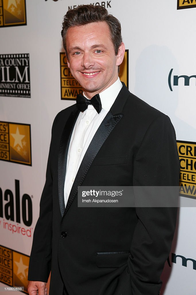 Actor <a gi-track='captionPersonalityLinkClicked' href=/galleries/search?phrase=Michael+Sheen&family=editorial&specificpeople=213120 ng-click='$event.stopPropagation()'>Michael Sheen</a> attends the Critics' Choice Television Awards at The Beverly Hilton Hotel on June 10, 2013 in Beverly Hills, California.