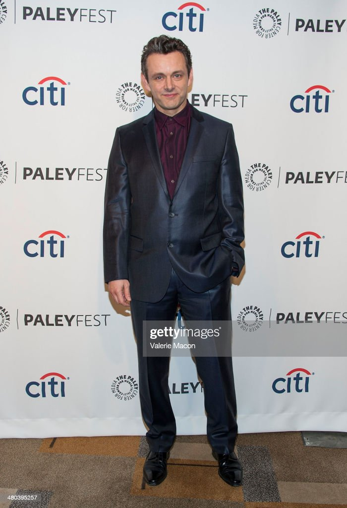 Actor <a gi-track='captionPersonalityLinkClicked' href=/galleries/search?phrase=Michael+Sheen&family=editorial&specificpeople=213120 ng-click='$event.stopPropagation()'>Michael Sheen</a> attends The Paley Center For Media's PaleyFest 2014 Honoring 'Masters Of Sex' at Dolby Theatre on March 24, 2014 in Hollywood, California.
