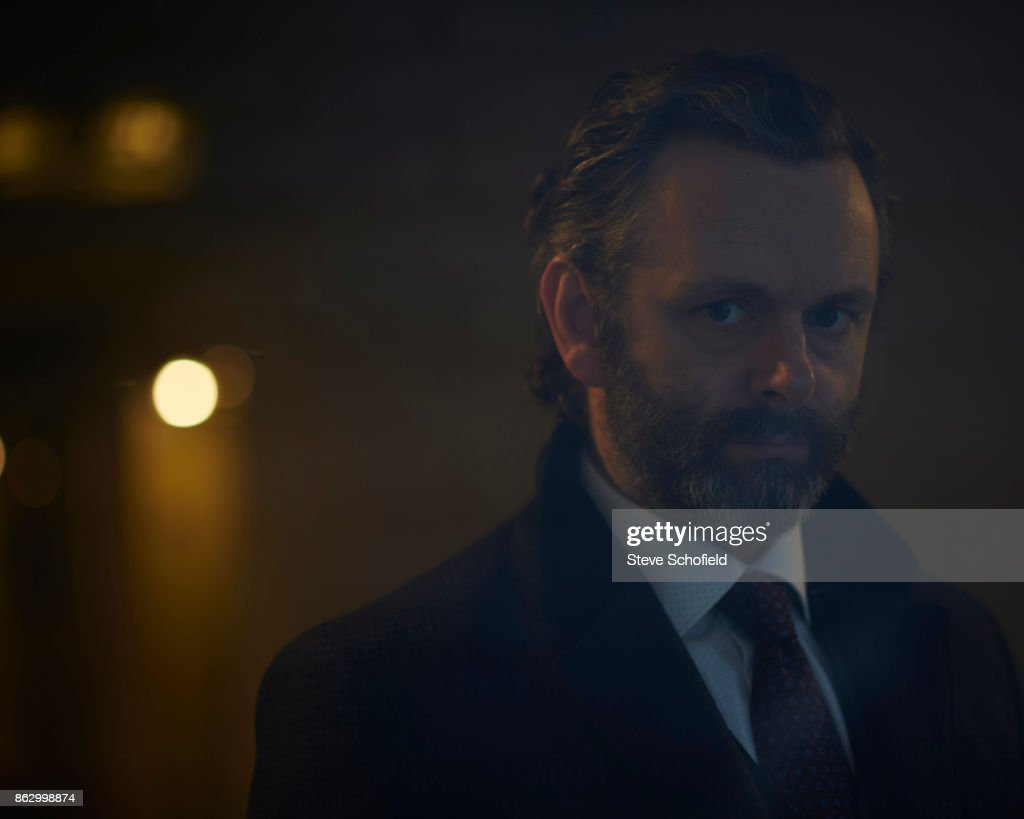 Actor Michael Sheen is photographed for the Sunday Times magazine on January 27, 2015 in Los Angeles, California.