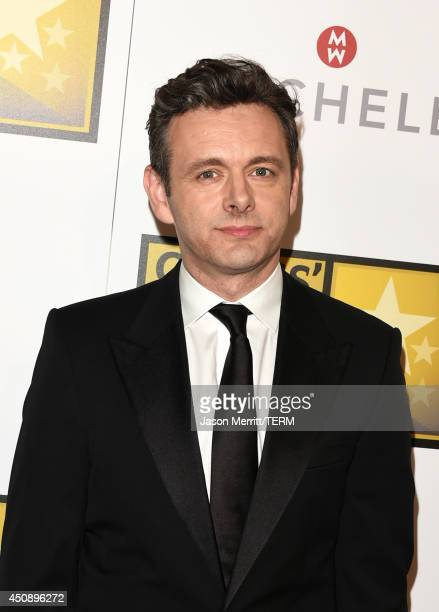 Actor Michael Sheen poses in the press room during the 4th Annual Critics' Choice Television Awards at The Beverly Hilton Hotel on June 19 2014 in...