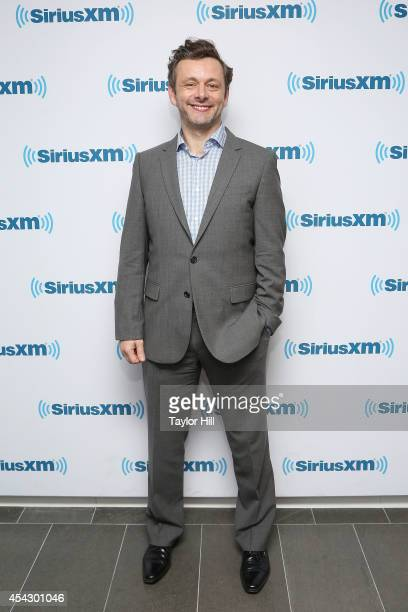 Actor Michael Sheen visits the SiriusXM Studios on August 28 2014 in New York City